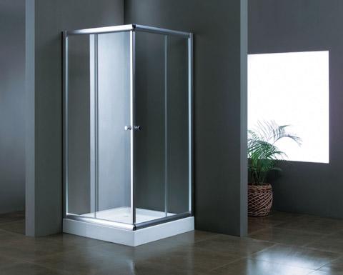"""מקלחון הזזה 80/90 במגוון עיצובים זכוכית 6 מ""""מ מחוסמת"""