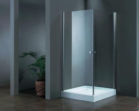 """מקלחון פינתי 80/90 במגוון עיצובים זכוכית 6 מ""""מ מחוסמת"""